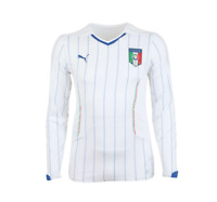 Puma Athletes Jersey Camiseta Camisa Maglia Maillot Italia FIGC Azzurri Blanc L