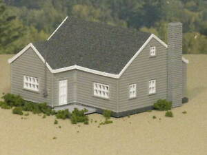 HO Scale Cape Cod House