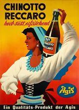 Original Plakat - Agis - Chinotto Reccaro um 1950