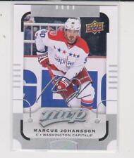 2015-16 Upper Deck MVP #48 Marcus Johansson Washington Capitals Silver Script