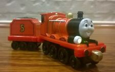 Thomas Friends Take Along Play LIGHTS & SOUNDS JAMES w/ TENDER Talking Tidmouth