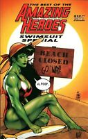 Fantagraphics The Best Of The Amazing Heroes Swimsuit Special High Grade
