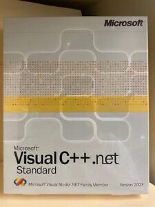 Microsoft Visual C++.net Standard Version 2003
