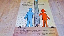 DES ENFANTS GATES ! affiche cinema 1977  savignac