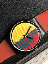 1987 VINTAGE Swatch GENT GB113 WAIPITU  New With Box