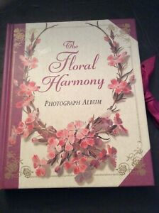The Floral Harmony Photograph Album Book Unique Beautiful Way Keep Special Photo