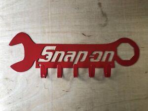 Snap-on Themed shop key hook (Lg. size) you pick color
