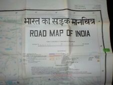 Road Map of India 6th Edition 1977 2-teilig Nord- und Südindien