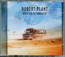 """ROBERT PLANT """"Sixty six to Timbuktu, Best of"""" 2CD (Led Zeppelin), Neu!"""