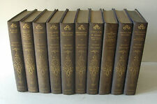 GUSTAVE FLAUBERT - COMPLETE WORKS TEN VOLUMES - 1926  DELUXE LIMITED EDITION