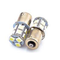 S25 1156 BAU15S OFFSET PIN .. SMD LED Amber Orange Indicator Bulbs VT VX VU VZ