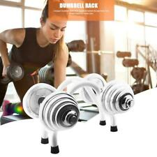 Dumbbell Steel Home Storage Gym Weight Rack Compact For Stand Barbell Free 1HZQ