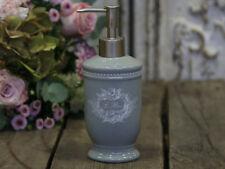 Seifenspender mit Engelsdruck Grau H 19,5 cm antik Chic Antique Shabby Brocante