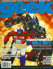 Geek 7/09,Transformers,July 2009,NEW