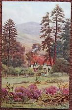 Keepers Cottage Punchbowl Hindhead Surrey ARQ / A R Quinton Vintage Postcard PC