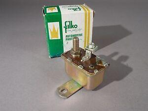 Filko SR-4 Vintage Starter Relay New Old Stock