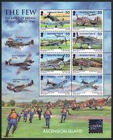 Ascension 2010 - Mi-Nr. 1110-1117 ** - MNH - KLB - Flugzeuge / Airplanes