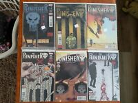 Marvel Comics The Punisher Volume 11 comic lot of 10 issues, #2,5,6,8-14 full ru
