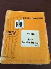INTERNATIONAL 3514 TRACTOR DOZER CRAWLER SKIDSTEER LOADER PARTS CATALOG MANUAL