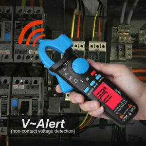 BSIDE ACM91 True RMS Digital AC/DC Clamp Meter Multimeter with Test Leads