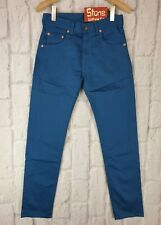 Levi's Vintage Clothing LVC Bedford Teal Blue Cords Jeans New £155 USA W29 L31