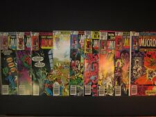 9-The Micronauts They Came From Inner Space,marvel,#16,17,18,19,20,21,22,23,24