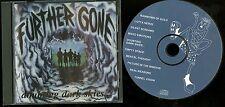 Further Gone Doubting Dark Skies CD private indie hard barroom rock Pennsylvania