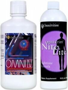 Omni IV Liquid Vitamin with Glucosamine and OmniTrim Nite Lite