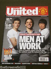 MANCHESTER UNITED - CARRICK - HARGREAVES - PARK - APRIL 2008