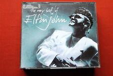 ELTON JOHN THE VERY BEST OF  RARE YUGOSLAVIAN RTB LABEL 1990 DBL CD