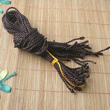 "20pcs 18"" 2mm Brown Silk Thread Cord String To European Charm Necklace ED0353"