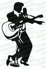Elvis Car/Bike Vinyl Graphic Decal Sticker