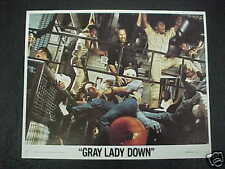 GRAY LADY DOWN, nr mint color 8x10 set (Charlton Heston)