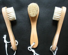 3 Natural Wood Face Facial Skin Beauty Complexion Brush