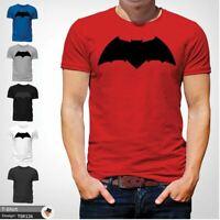 Batman Chest Logo T-shirt Team Bat T-Shirt Tshirt All Sizes S-3XL Adult Red