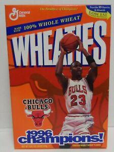 Wheaties Box Michael Jordan 1996 Champions Series 62 Empty 1