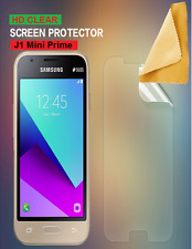 Ultra Clear LCD Screen Protector Cover Guards For Samsung Galaxy J1 Mini Prime
