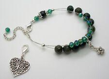 Beautiful Aphrizite Gemstone Knitting Abacus Bracelet Row Counter