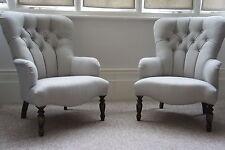 Bampton armchairs In Laura ashley edwin dove grey stunning pair of chairs