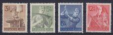 DR Mi Nr. 850 - 853 **, 8 Jahre Arbeitsdienst Deutsches Reich 1943, postfrisch