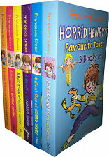 Horrid Henry Series Collection 6 Books Set 18 Titles Brand New Francesca Simon