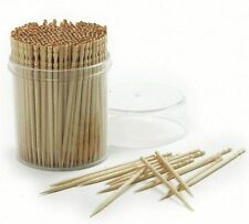 600 Toothpicks Oral Wooden Tooth Pick Catering Party HIGH QUALITY USA SELLER
