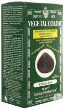 ♡Lot de 2 Coloration Semi Permanente Vegetal Color Chatain Doré ♡..