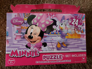 NEW - Disney MINNIE MOUSE 24pc Puzzle