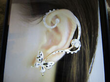 GOLDTONE BUTTERFLY EAR CUFF #910