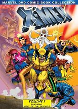 X-Men ALL Volume 1-5 Complete Series DVD Set Marvel DVD Comic Book Collection TV
