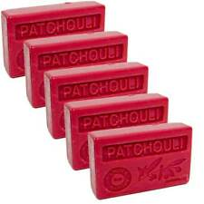 5 x 100g Bars - Patchouli Scented French Soap with Organic Argan Oil