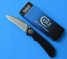 COLT Pony Tanto Point Knife CT43 - NEW Kit Rae Fine Edge Linerlock Pocket Clip