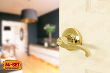 Commercial Grade 2 Passage Door Lever Lifetime Brass PVD