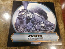 OSH TRAINS WALL ART CALENDAR Railroad 2000 GILBERT H. BENNETT